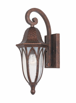 "Designers Fountain Berkshire 18"" Outdoor Wall Sconce - Copper 20611-BAC"
