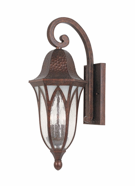 Designers Fountain Berkshire 23 Outdoor Wall Sconce Lighting Copper 20621 Bac