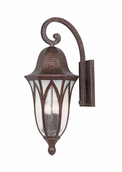 "Designers Fountain Berkshire 27.5"" Outdoor Wall Light - Copper 20631-BAC"