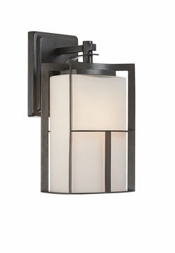 "Designers Fountain Braxton 13"" Exterior Wall Lantern - Charcoal 31821-CHA"