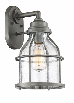 "Designers Fountain Brensten 13.75"" Outdoor Wall Lighting - Iron 23131-WI"