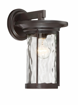 "Designers Fountain Brookline 13"" Outdoor Wall Mount - Bronze 23021-SB"
