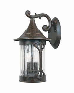 "Designers Fountain Canyon Lake 16"" Exterior Wall Sconce - Chestnut 20921-CHN"