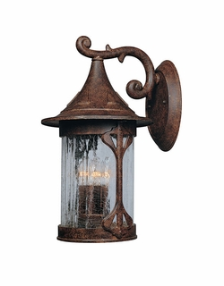 "Designers Fountain Canyon Lake 19.5"" Outdoor Wall Lighting Fixture - Chestnut 20931-CHN"