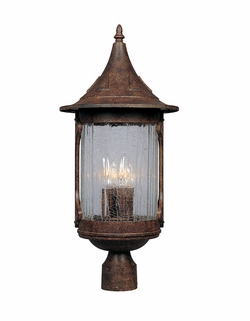 Designers Fountain Canyon Lake Outdoor Lighting Post Lamp - Chestnut 20936-CHN