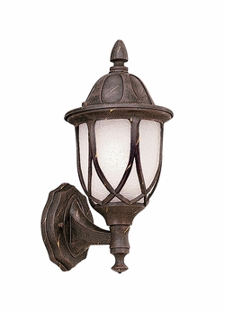 "Designers Fountain Capella 13.5"" Outdoor Wall Lighting Fixture - Gold 2867-AG"