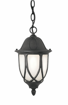 Designers Fountain Capella Hanging Outdoor Light - Black 2864-BK