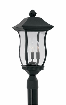 Designers Fountain Chelsea Outdoor Post Light - Black 2726-BK