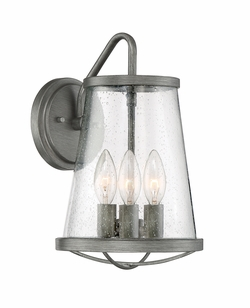 "Designers Fountain Darby 12.75"" Exterior Wall Lighting - Iron 87092-WI"