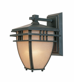 "Designers Fountain Dayton 10.75"" Outdoor Wall Light - Bronze 30811-ABP"