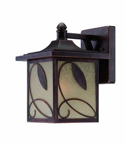 "Designers Fountain Devonwood 12.75"" Outdoor Wall Lighting Fixture - Copper 22231-FC"