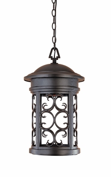 Designers Fountain Ellington Dark Sky Outdoor Pendant Lamp - Bronze 31134-ORB