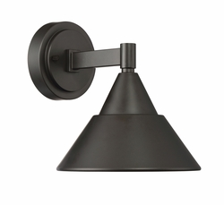 "Designers Fountain Fremont 8.5"" LED Outdoor Wall Mount - Bronze LED34721-ORB"