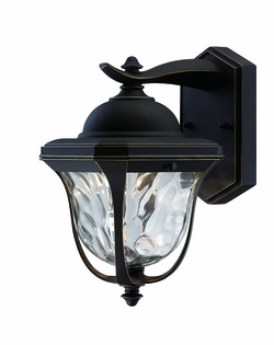 "Designers Fountain Marquette 14.25"" LED Exterior Wall Sconce - Bronze LED21931-ABP"