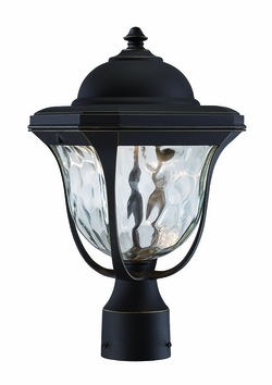 Designers Fountain Marquette LED Outdoor Lamp Post - Bronze LED21936-ABP
