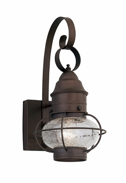 "Designers Fountain Nantucket 14.25"" Outdoor Wall Lighting Fixture - Rustique 1751-RT"