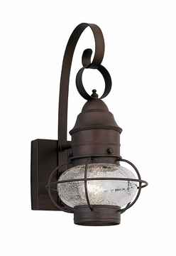 "Designers Fountain Nantucket 18.25"" Outdoor Wall Lantern - Rustique 1761-RT"