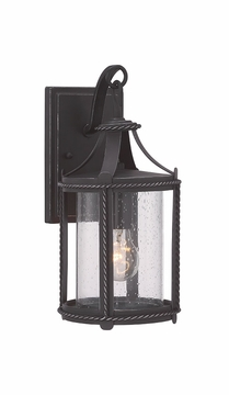 """Designers Fountain Palencia 14.75"""" Outdoor Wall Sconce Lighting 33621-APW"""