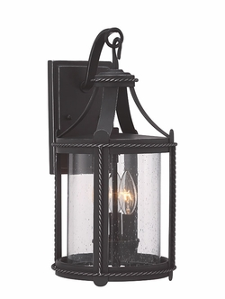 "Designers Fountain Palencia 17.25"" Outdoor Wall Light 33631-APW"