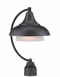 Designers Fountain Palmer Outdoor Post Lantern - Pewter 33546-WP
