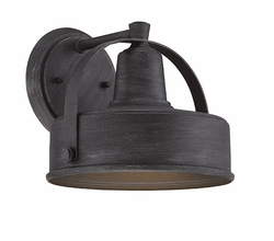 "Designers Fountain Portland Dark Sky 8.25"" Outdoor Wall Sconce - Pewter 33131-WP"