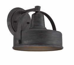 "Designers Fountain Portland Dark Sky 8"" Outdoor Wall Lighting - Pewter 33121-WP"