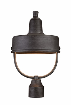 Designers Fountain Portland Dark Sky Outdoor Post Light - Pewter 33146-WP