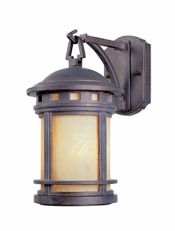 "Designers Fountain Sedona 10.75"" Exterior Wall Sconce - Patina 2370-AM-MP"