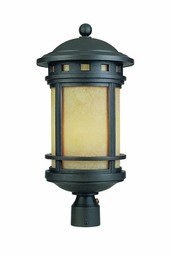 Designers Fountain Sedona Energy Star Outdoor Post Lamp - Bronze FL2396-AM-ORB