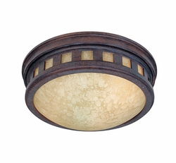 Designers Fountain Sedona Outdoor Ceiling Light Fixture - Patina 2375-AM-MP