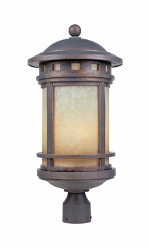 Designers Fountain Sedona Outdoor Lighting Post Lamp - Patina 2396-AM-MP