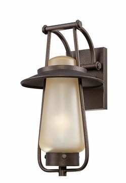 "Designers Fountain Stonyridge 16.5"" Exterior Wall Sconce - Bronze ES32031-FBZ"
