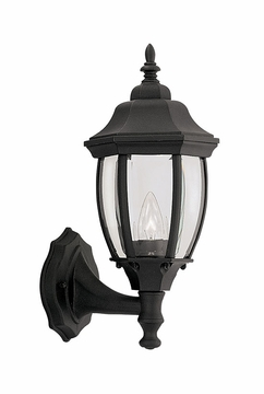 "Designers Fountain Tiverton 14.75"" Outdoor Wall Lighting - Black 2420-BK"