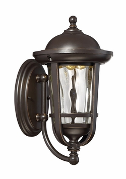 "Designers Fountain Westbrooke 12.25"" LED Outdoor Wall Sconce LED34421-ABP"