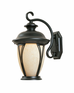 "Designers Fountain Westchester 16"" Outdoor Wall Lamp - Bronze 30521-AM-BZ"