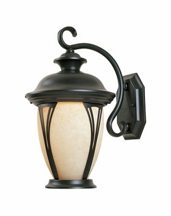 "Designers Fountain Westchester 19.5"" Exterior Wall Lighting - Bronze 30531-AM-BZ"