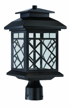 Designers Fountain Woodmere LED Outdoor Post Light - Bronze LED22336-ORB