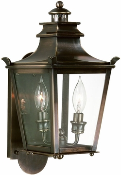 Dorchester Transitional Bronze Outdoor Wall Light by Troy B9490EB