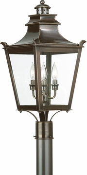Dorchester Transitional Outdoor Post Lighting Fixture by Troy P9496EB