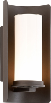 """Drake 14"""" Outdoor Wall Light By Troy - Bronze B3392"""