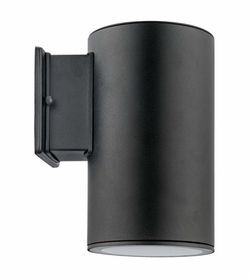 "Eglo Ascoli 9"" Outdoor Wall Light - Black 200146A"