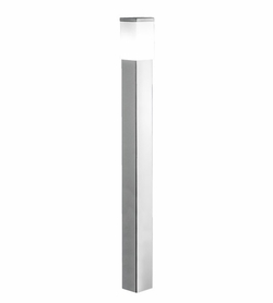 "Eglo Calgary 43.25"" Exterior Post Light - Stainless Steel 86389A"