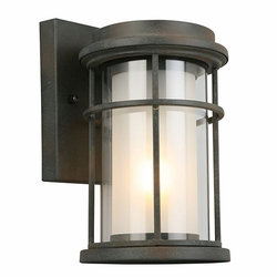 "Eglo Helendale 10"" Outdoor Wall Lighting - Zinc 203023A"