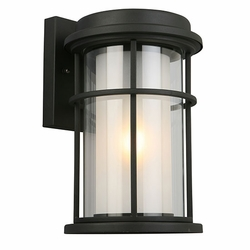 "Eglo Helendale 13"" Outdoor Wall Light - Black 203026A"