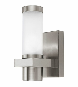Eglo Konya Outdoor Lighting Sconce - Nickel 86385A