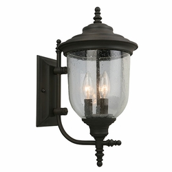 "Eglo Pinedale 18"" Outdoor Wall Lamp - Bronze 202876A"
