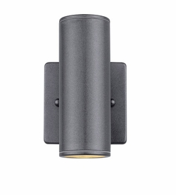 "Eglo Riga 6"" Exterior Wall Light - Anthracite 83999A"