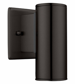 "Eglo Riga 6"" Exterior Wall Lighting - Black 200032A"
