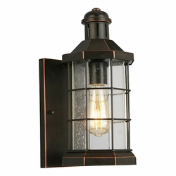 "Eglo San Mateo Creek 14"" Outdoor Wall Lighting - Bronze 202872A"