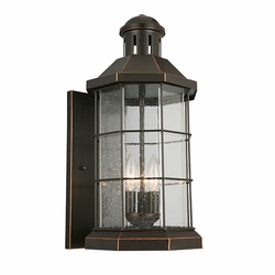 "Eglo San Mateo Creek 20"" Outdoor Lighting Sconce - Bronze 202869A"